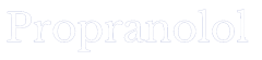 propranolol logo